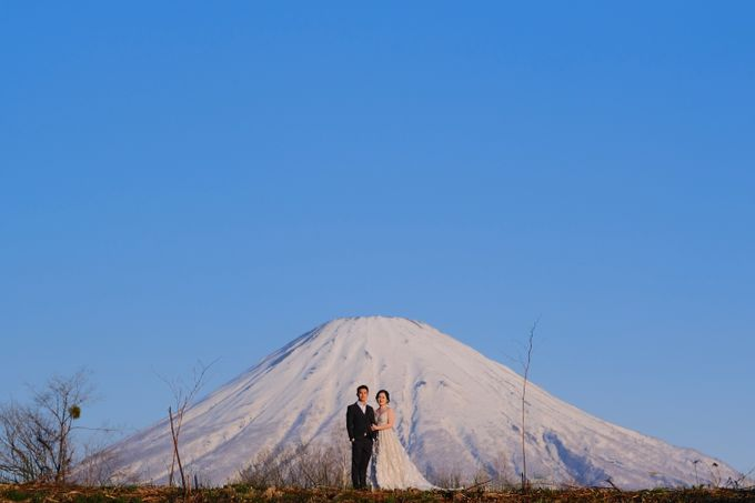 Winter-Sakura Pre Wedding in Japan by Yipmage Moments - 001