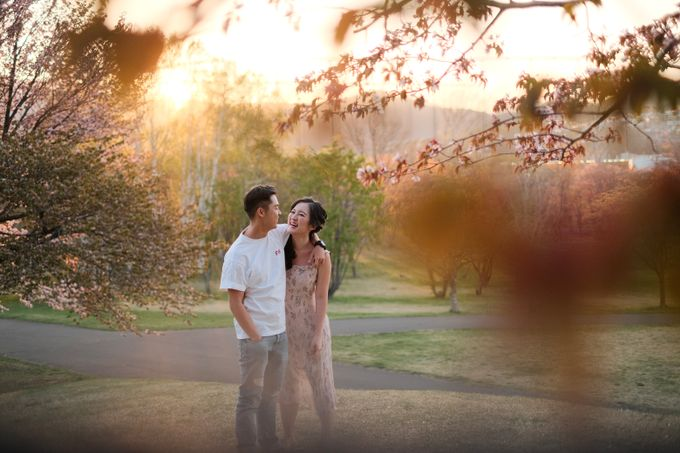 Winter-Sakura Pre Wedding in Japan by Yipmage Moments - 005