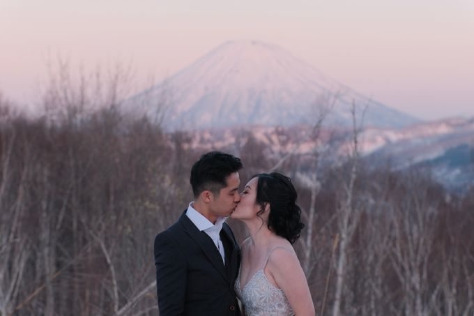 Winter-Sakura Pre Wedding in Japan by Yipmage Moments - 011