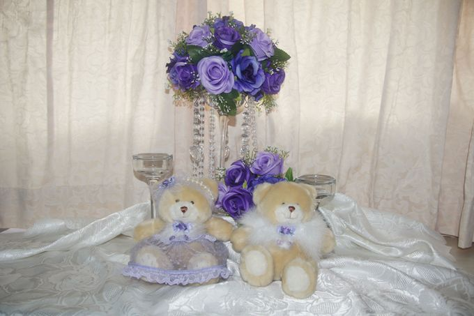The Purple Dream Wedding by Candy Buffet Singapore - 011
