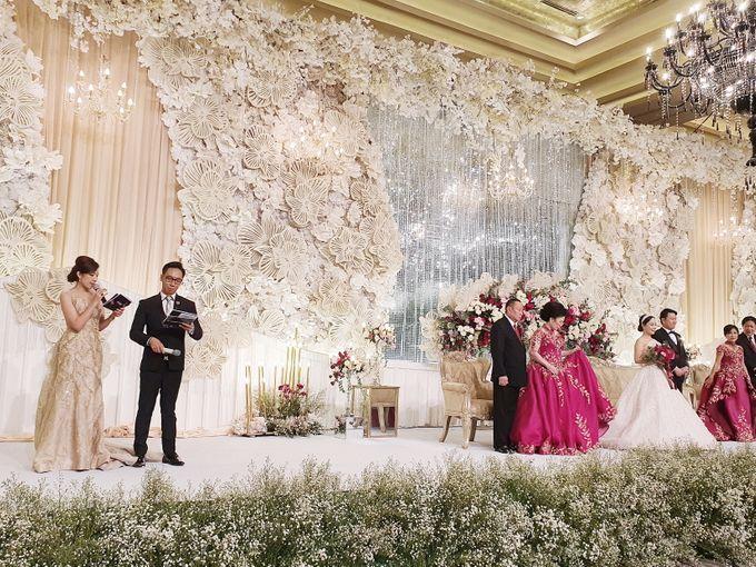 David & Lenny Wedding - Kempinski Hotel Jakarta by Hotel Indonesia Kempinski Jakarta - 004