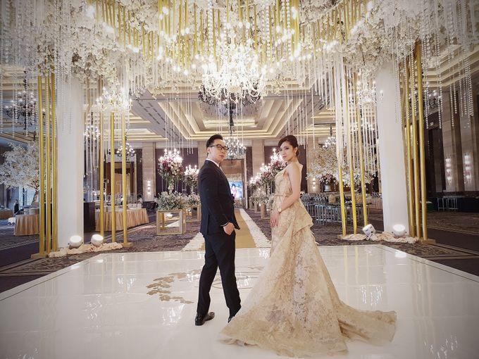 David & Lenny Wedding - Kempinski Hotel Jakarta by Hotel Indonesia Kempinski Jakarta - 005