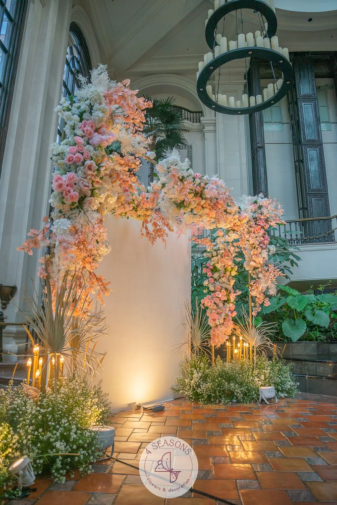 Wedding of Trevie & Mutia by 4Seasons Decoration - 004
