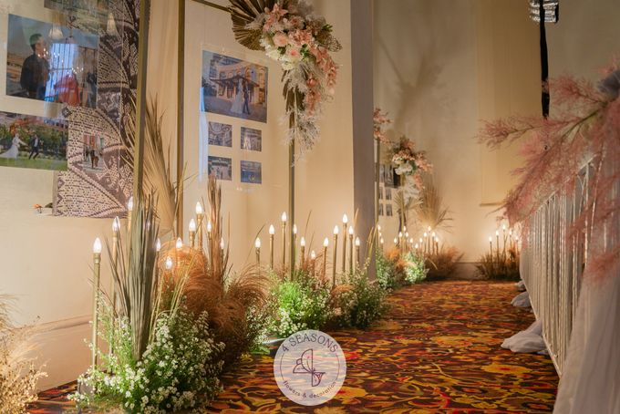 Wedding of Trevie & Mutia by 4Seasons Decoration - 005