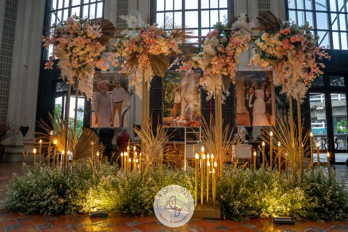 Wedding of Trevie & Mutia by 4Seasons Decoration - 002
