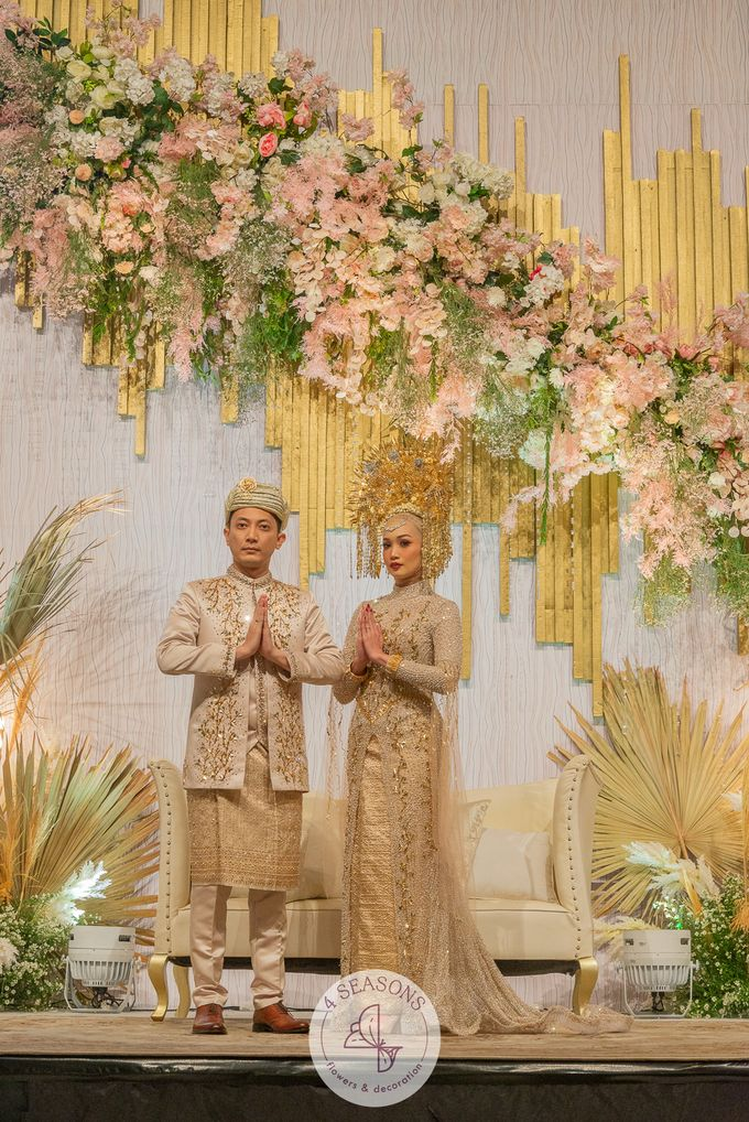 Wedding of Trevie & Mutia by 4Seasons Decoration - 012