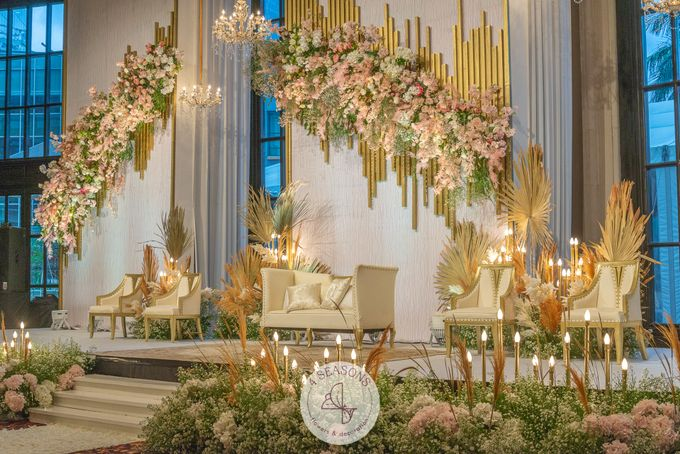Wedding of Trevie & Mutia by 4Seasons Decoration - 010