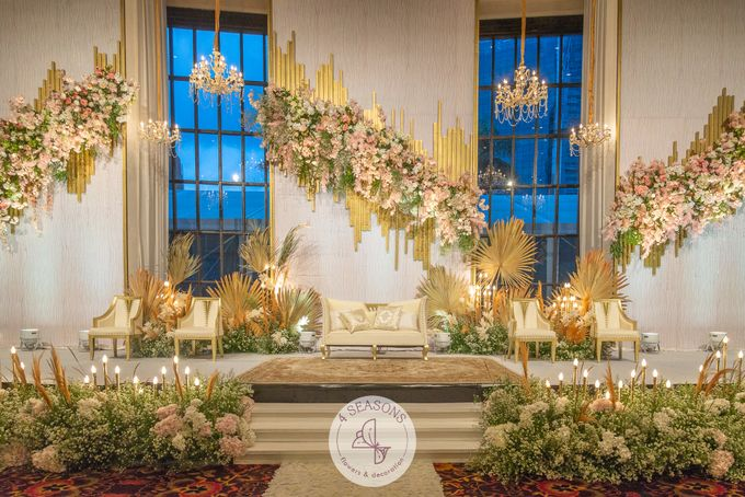 Wedding of Trevie & Mutia by 4Seasons Decoration - 008
