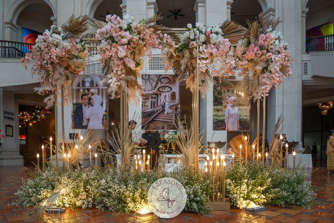 Wedding of Trevie & Mutia by 4Seasons Decoration - 001