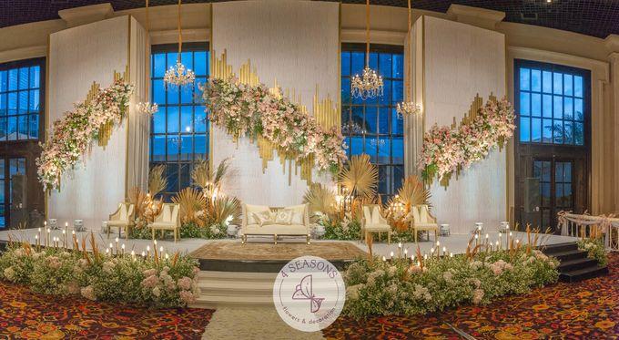 Wedding of Trevie & Mutia by 4Seasons Decoration - 007