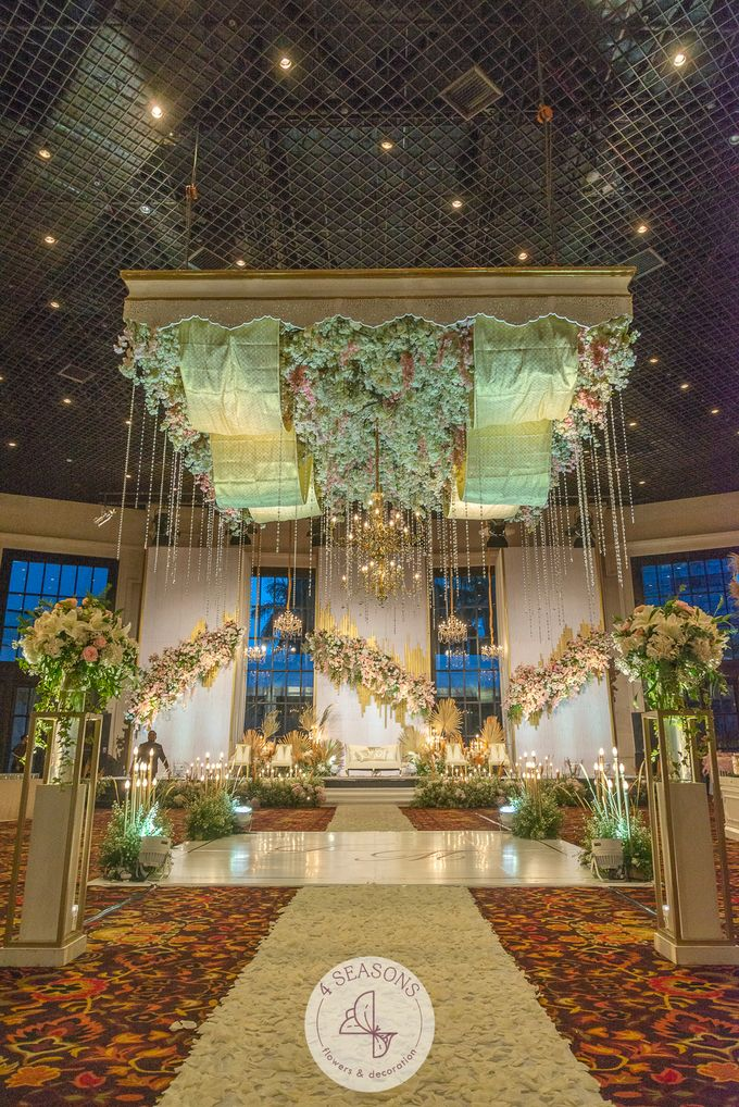 Wedding of Trevie & Mutia by 4Seasons Decoration - 006