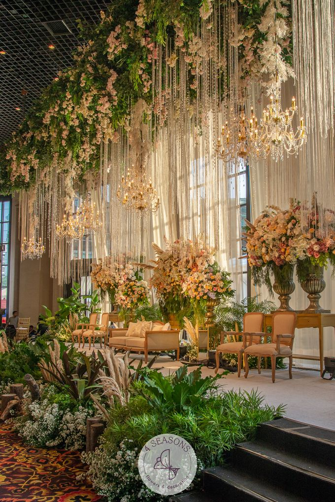 Wedding of Andre & Vinsensia by 4Seasons Decoration - 010