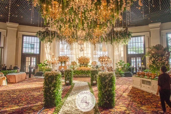 Wedding of Andre & Vinsensia by 4Seasons Decoration - 009