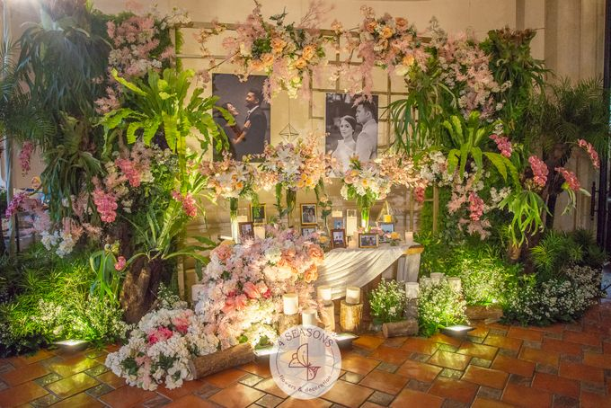Wedding of Andre & Vinsensia by 4Seasons Decoration - 006