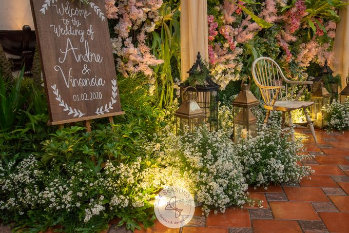 Wedding of Andre & Vinsensia by 4Seasons Decoration - 003