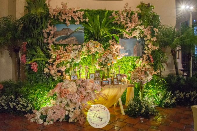 Wedding of Andre & Vinsensia by 4Seasons Decoration - 008