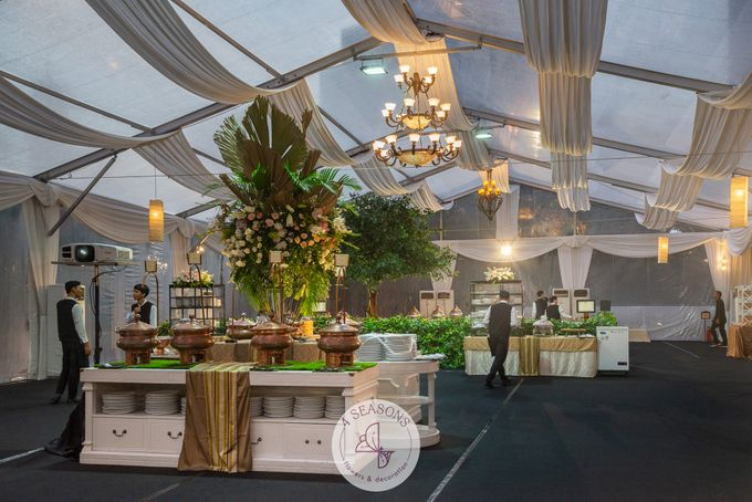 Wedding of Andre & Vinsensia by 4Seasons Decoration - 017