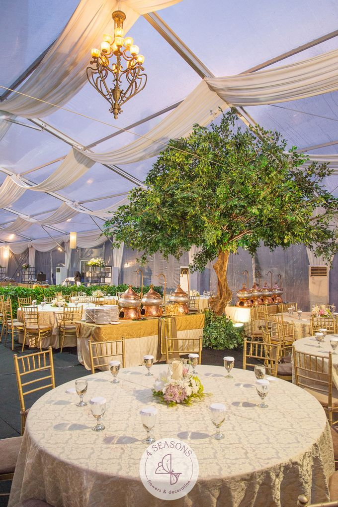 Wedding of Andre & Vinsensia by 4Seasons Decoration - 014