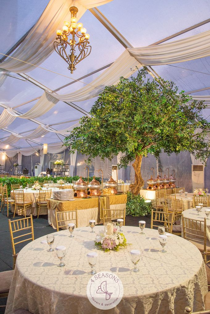Wedding of Andre & Vinsensia by 4Seasons Decoration - 016