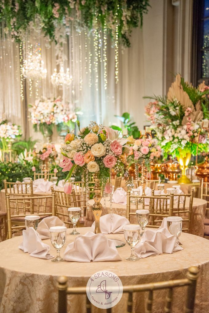 Wedding of Andre & Vinsensia by 4Seasons Decoration - 013