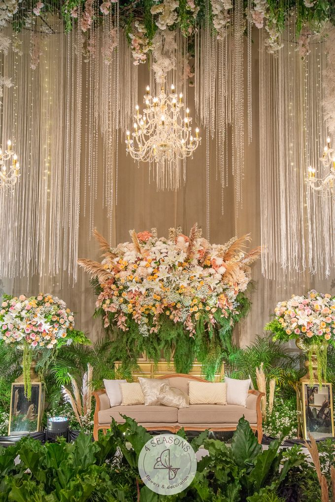 Wedding of Andre & Vinsensia by 4Seasons Decoration - 011