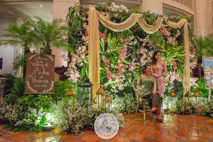 Wedding of Andre & Vinsensia by 4Seasons Decoration - 018