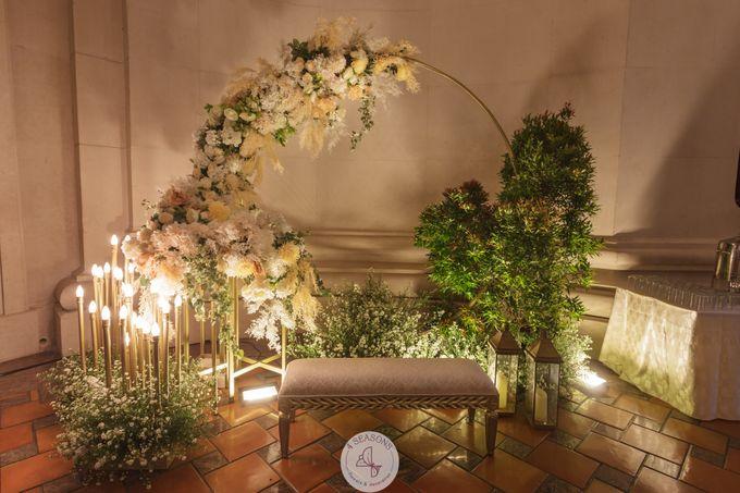 Wedding of  Mario & Jessica by 4Seasons Decoration - 005