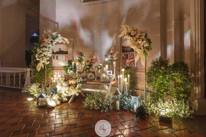 Wedding of  Mario & Jessica by 4Seasons Decoration - 004