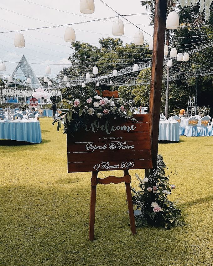 The Wedding of Supendi & Ferina by Miracle Wedding Bali - 034