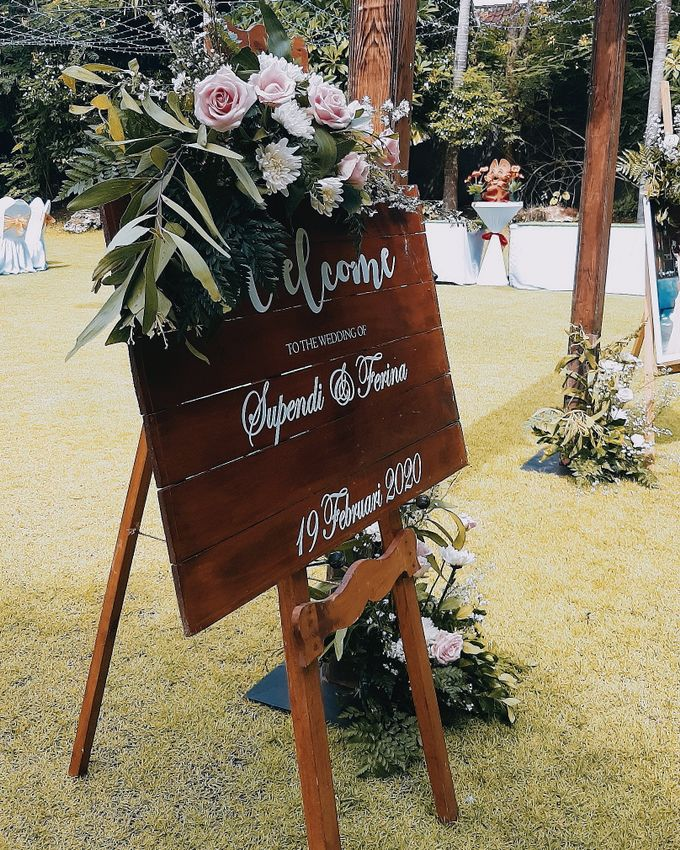 The Wedding of Supendi & Ferina by Miracle Wedding Bali - 044