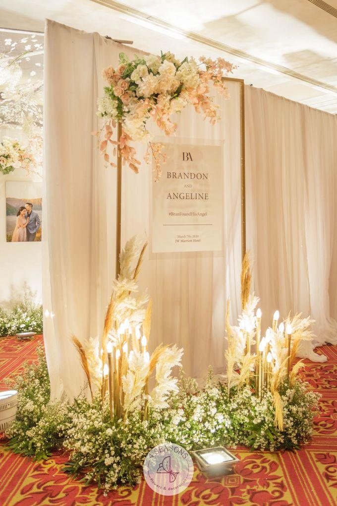 Wedding of Brandon & Angeline by 4Seasons Decoration - 002