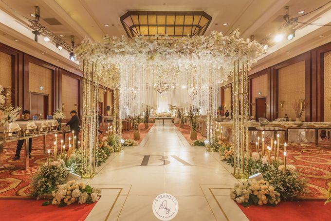 Wedding of Brandon & Angeline by 4Seasons Decoration - 005