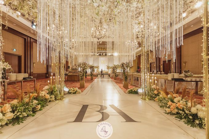 Wedding of Brandon & Angeline by 4Seasons Decoration - 007