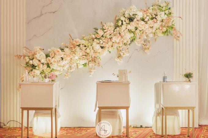 Wedding of Brandon & Angeline by 4Seasons Decoration - 001