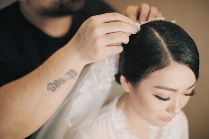 Wedding of Nick Christine by DONNY LIEM The Make Up Art - 034