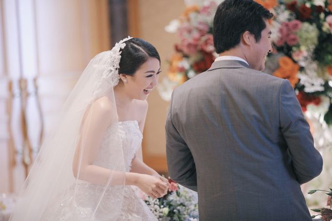Wedding of Nick Christine by DONNY LIEM The Make Up Art - 004