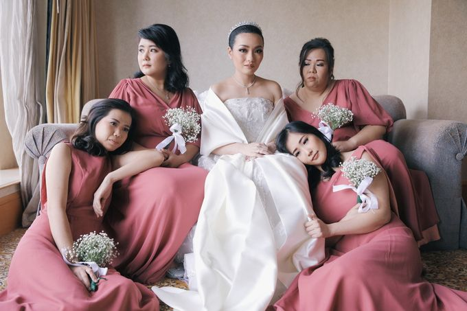 Wedding of Nick Christine by DONNY LIEM The Make Up Art - 038