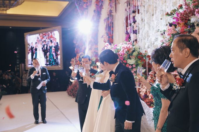 Wedding of Nick Christine by Finest Organizer - 040