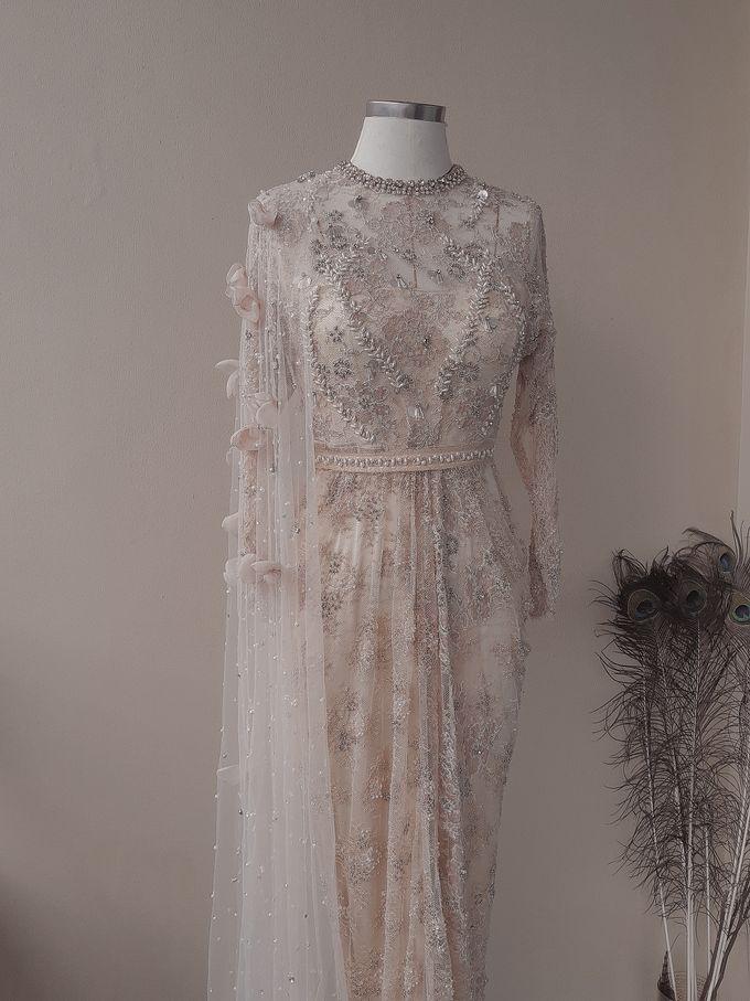 Champagne Wedding Dress by SARSA - 004