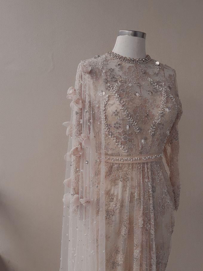 Champagne Wedding Dress by SARSA - 002