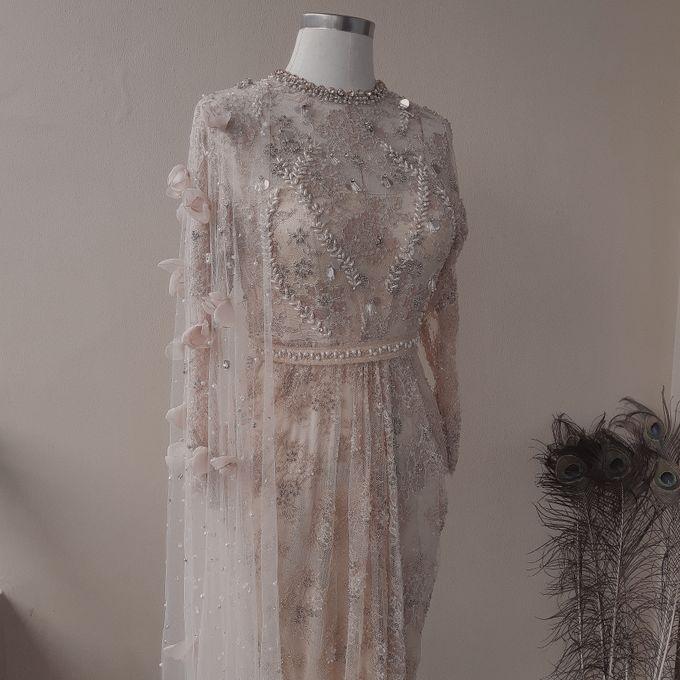 Champagne Wedding Dress by SARSA - 003