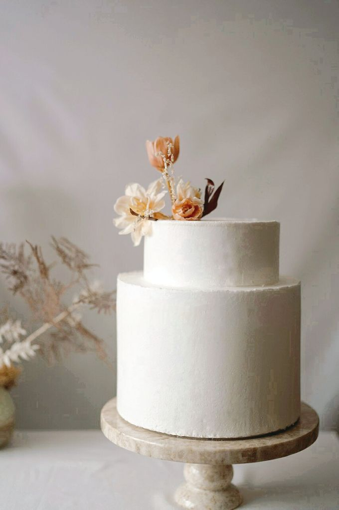 Terracota Romantic Wedding by Ame Cakery - 006