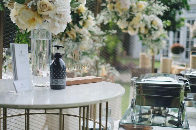 Intimate Wedding At The Manor Andara by Medina Catering - 005