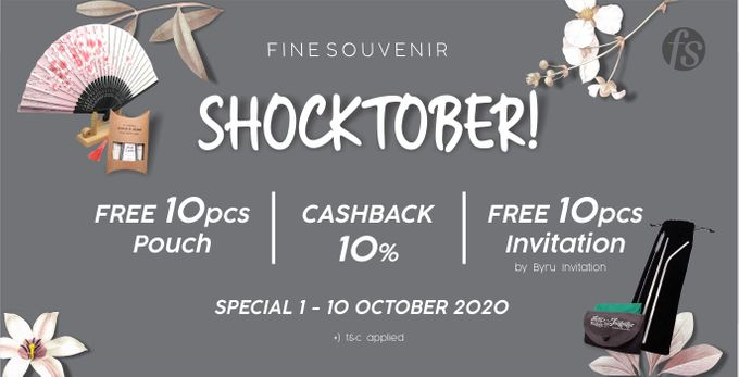 "Fine Souvenir ""Shocktober 10.10"" by Fine Souvenir - 001"