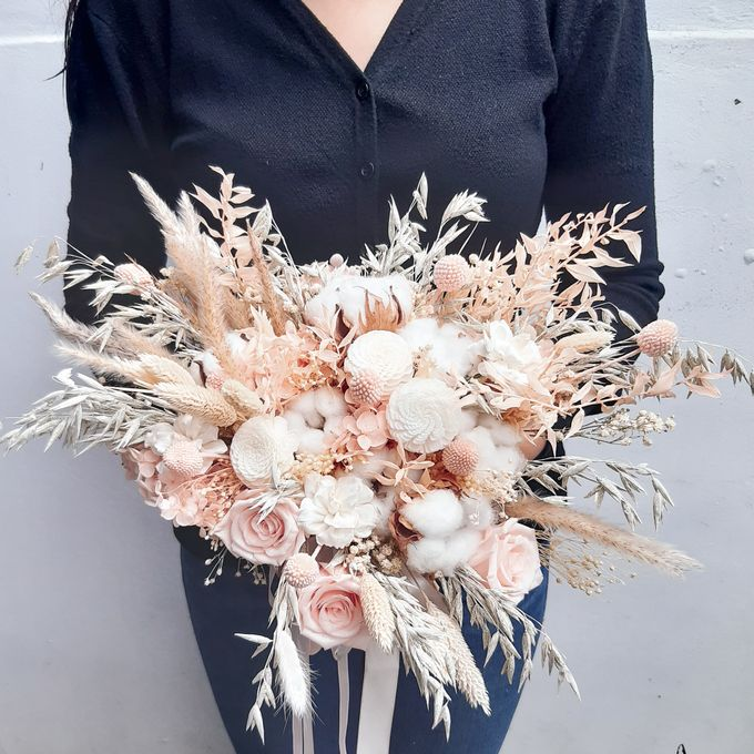 Dried Flower Bouquet by Tiffany's Flower Room - 015
