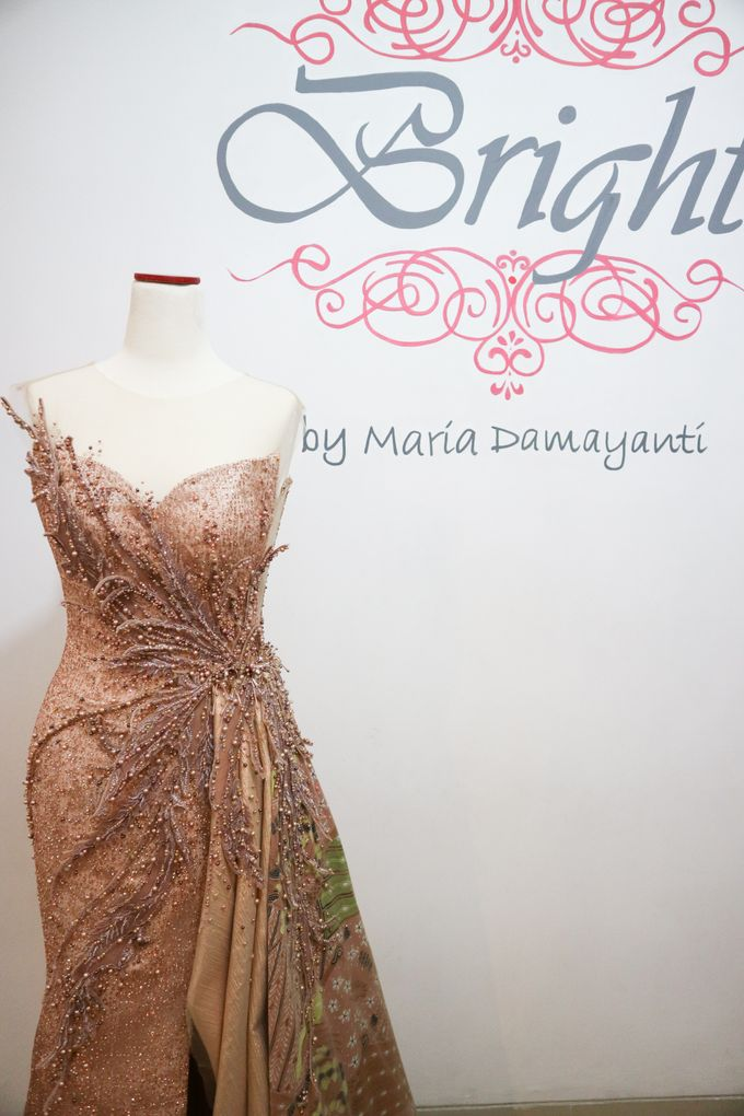 The Golden Dancing Peacock by Bright by Maria Damayanti - 002