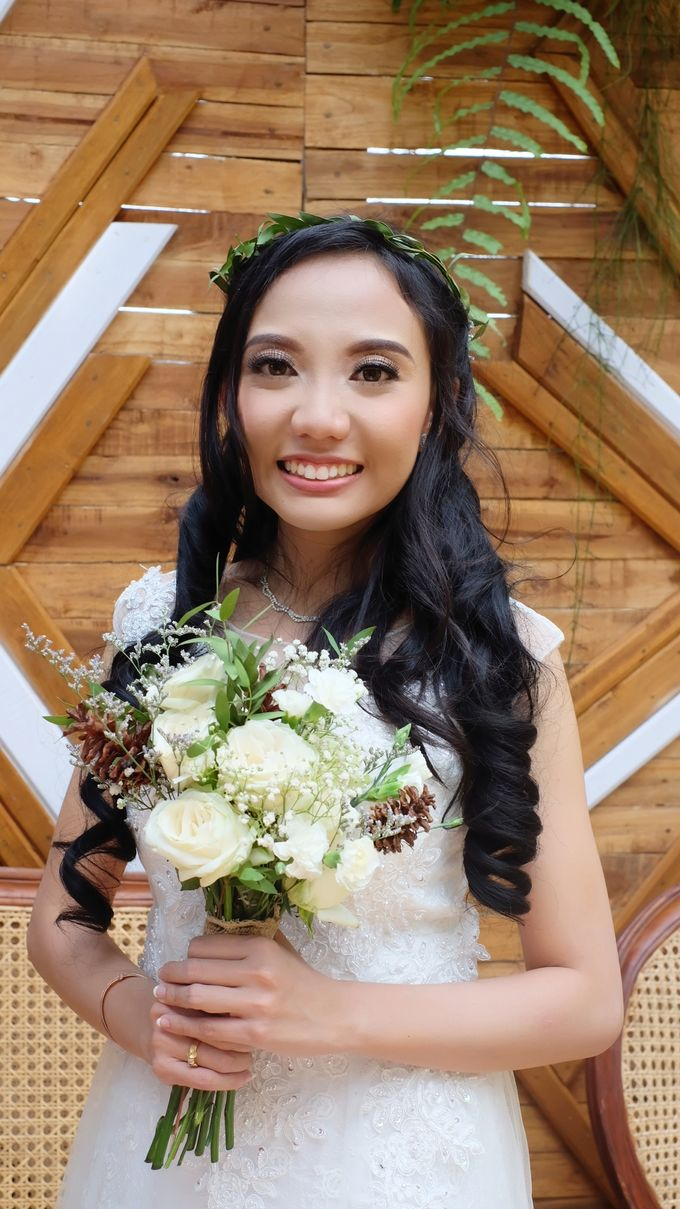 Wedding Of Michelle & Glenn by Tasya Tiddy Make Up Artist - 001
