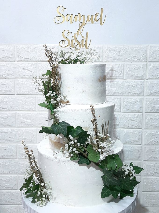 The Wedding Cake Of Samuel & Sisil by Moia Cake - 001