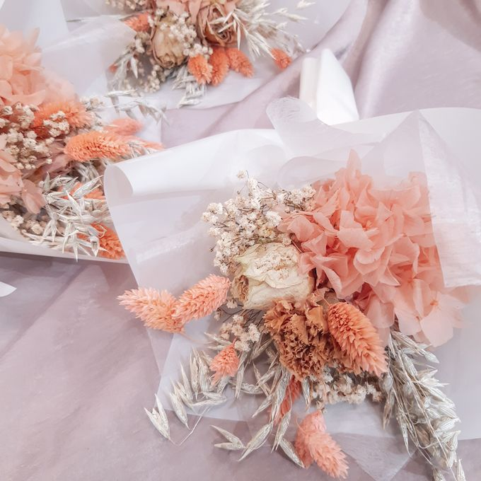 Dried Flower Bouquet by Tiffany's Flower Room - 017
