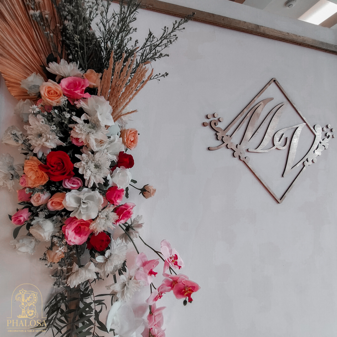Wedding Of Melissa And Vendy by Phalosa Event Decoration & Table Setting - 003